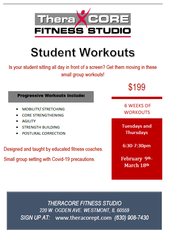 Student Workouts 3